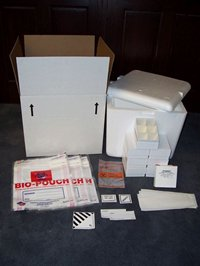 Item # CPI-P06, Urine Kits 6 Cell Partition - Custom Pack